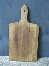 "Vintage Bread Board Primitive Country 14"" x 7"" Wood, Cutting Dough"