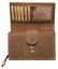 Indexbild 4 - Damen Geldbörse Pferd Naturleder Büffelleder Geldbeutel Kartenschutz RFID / NFC
