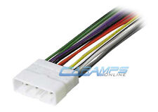 NEW CAR STEREO WIRING HARNESS CD PLAYER INSTALLATION WIRE INSTALL PLUG ADAPTER