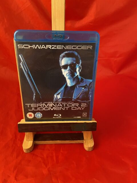 Used Blu Ray Movie, Terminator 2: Judgment Day (18) 1991, Free P&P