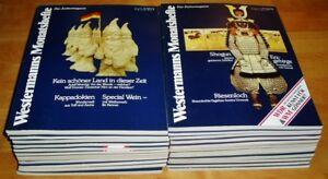 25x-Westermanns-Monatshefte-1982-1983-1984-Zeitschrift-Kulturmagazin-Sammlung
