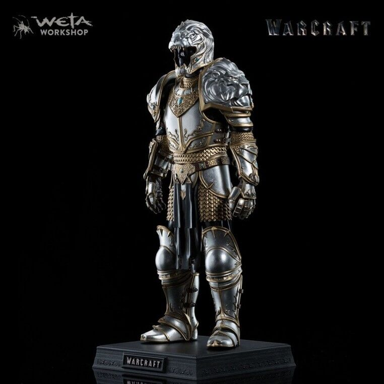 Weta Collectibles - Warcraft Statue 1 6 Armor of King Llane 33 cm
