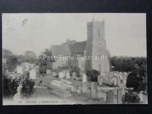 Kent-LL-10-HYTHE-Parish-Church-c1908-Old-Postcard