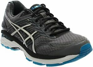 4adb649b1b Details about ASICS Men's GT-2000 5 Running Shoe, Carbon/Silver/Island  Blue, 8 2E US