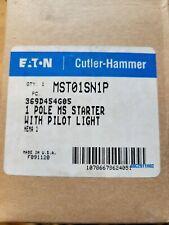 Eaton Mst01sn1p Ms Series Motor Starter Switch