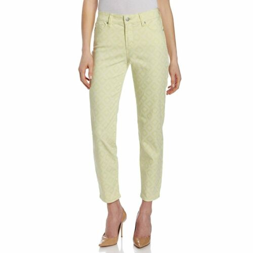 NEW NYDJ Not Your Daughter/'s Jeans Alisha Buttercream Basketweave Ankle Pants