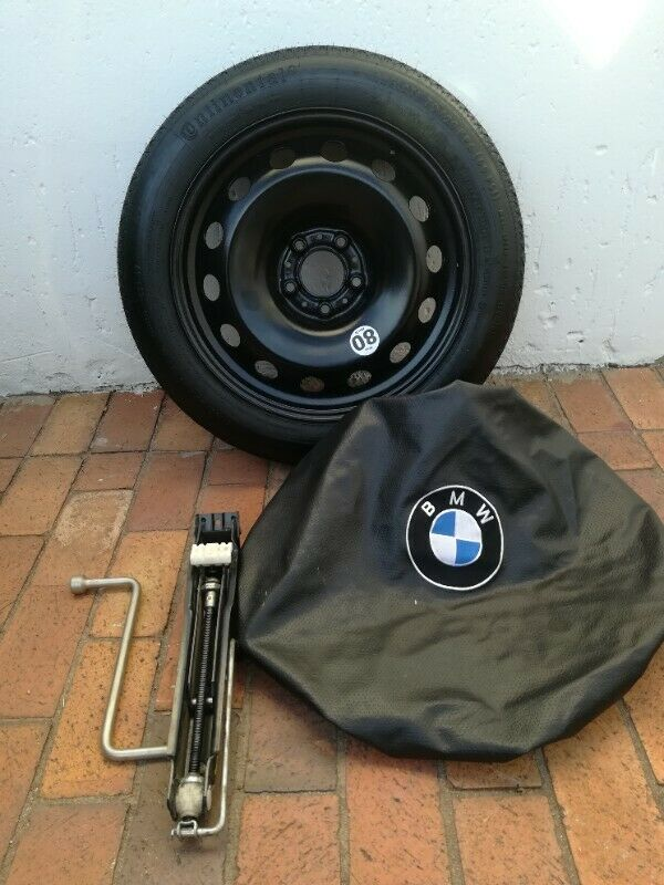 BMW X5 7 seater G08 Latest 18 inch Space Saving Spare Wheel kit with Tools and Cover R6500