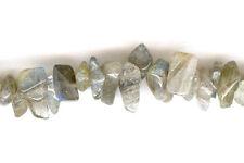"Labradorite Chip Beads 16"" Strand High Grade! Nice Flash!"