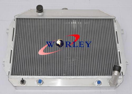 3 ROW Aluminum Radiator for Nissan//Datsun 240Z//260Z 1970-1975 71 72 73 74 AT MT