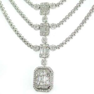10-66-TCW-Diamonds-Pendant-Necklace-In-Solid-18k-White-Gold-16-034-Length