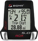 Sigma ROX 5.0 HRM Bike Cyclometer Computer Wireless Speed & Cadence & Heart Rate