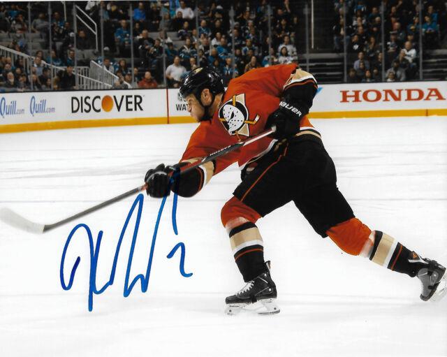 Anaheim Ducks Kevin Bieksa Autographed Signed 8x10 NHL Photo COA