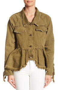 Veste Taille Ob809897 People Vert Willow Xs Relaxed Free Womens xSnw6Uq7