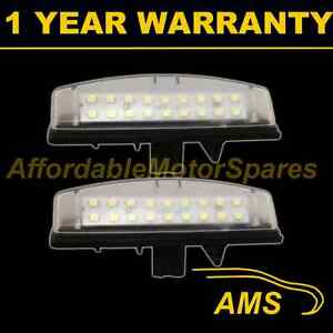 2X-FOR-TOYOTA-AVENSIS-VERSO-CAMRY-YARIS-PRIUS-PREVIA-18-LED-NUMBER-PLATE-LAMP