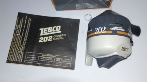 new vintage IN BOX  Zebco 202 Reel  made in the USA