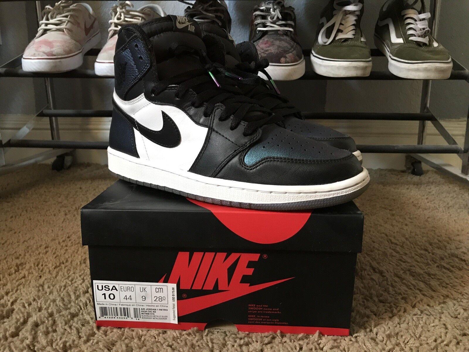 wholesale dealer e18e5 75144 Nike air jordan 1 stella camaleonte ombra sz 10 allevati ombra camaleonte  royal 6edc00