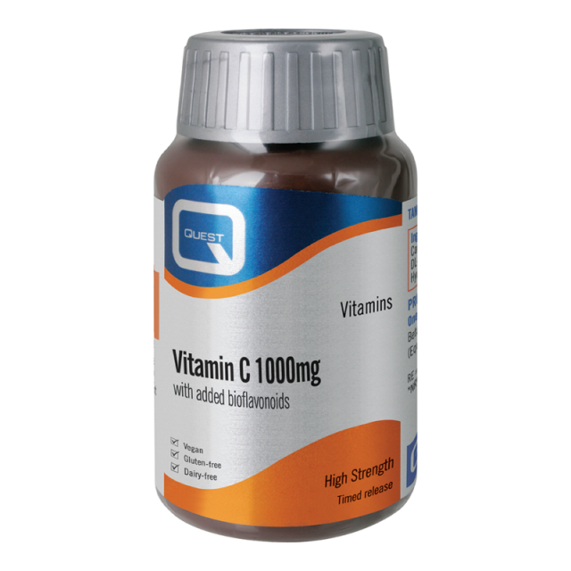 Quest Vitamins Vitamin C 1000mg Tabs 180