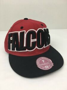 Atlanta-Falcons-Mitchell-amp-Ness-Fitted-Hat-Cap-Size-7-NFL
