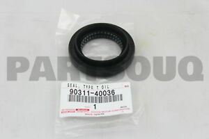 9031140036 Genuine Toyota OIL SEAL, FRONT DRIVE SHAFT, RH 90311