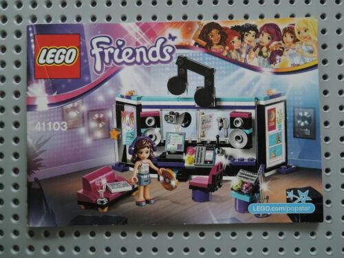 Instruction Friends  41103 LEGO Bauanleitung