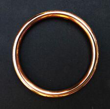 Copper Bangle Hard silver soldered for health Santeria Ochun Oshun Oxum Yoruba