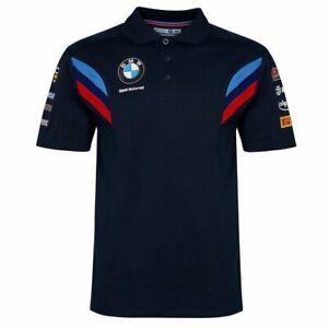 BMW-Motorrad-WSBK-Team-Polo-Shirt-New-Official-Merchandise