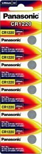 Panasonic-CR1220-Lithium-Battery-Single-Battery-5-pack