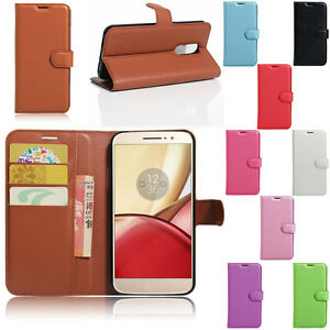 Phone-Case-For-Motorola-Moto-G4-Plus-G4-Play-Card-Wallet-Leather-Flip-Cover