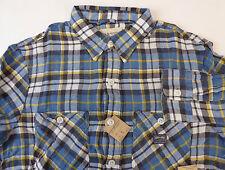 7041263aa Denim   Supply Polo Ralph Lauren Ward Plaid 100% Cotton Twill Work Shirt   79 NWT
