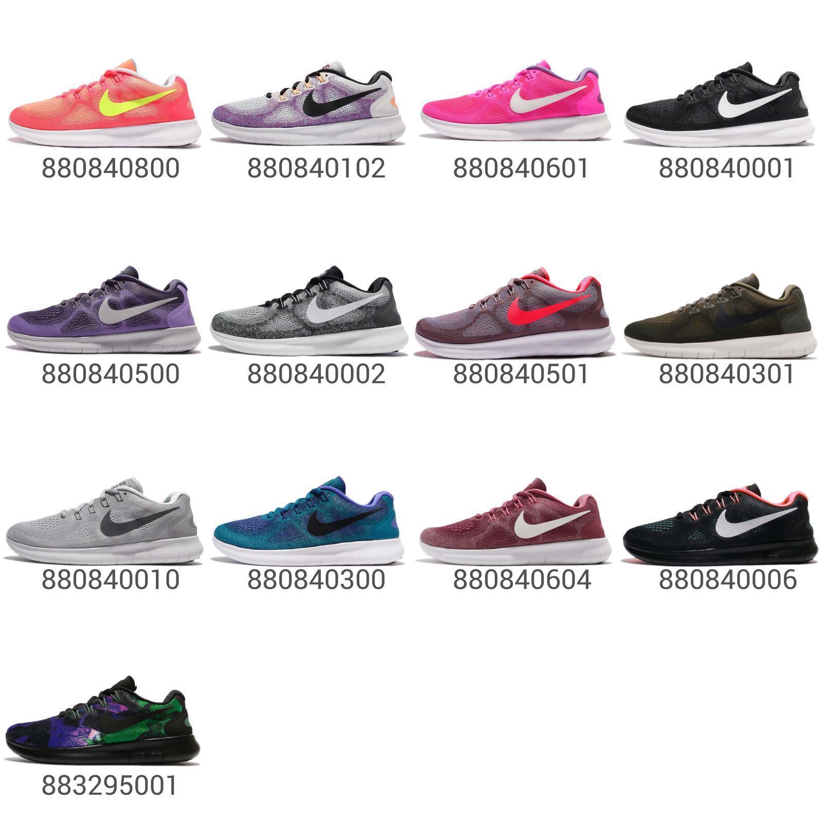 Nike Wmns Free RN 2017 femmes Running chaussures Lightweight baskets Pick 1