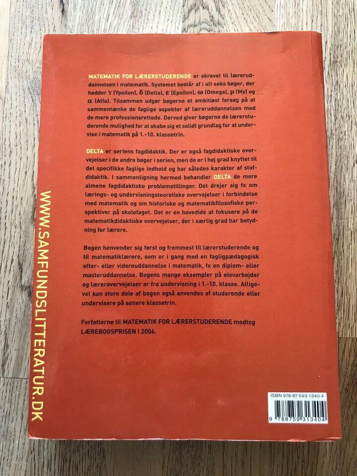 Matematik for lærerstuderende DELTA fagdidaktik, Jeppe