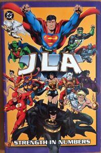 JLA-Justice-League-of-America-Strength-in-Number-DC-Comics-Book-Paperback