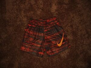 Nike Boys Plaid Shorts Large, Anthracite