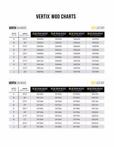 75# 85/% Let Off Mathews Vertix // VXR Mod C Mod Black Brand New
