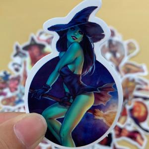 50-sexy-Girl-pinup-StickerBomb-retrostickern-Pegatina-Sticker-Mix-Decals-horror
