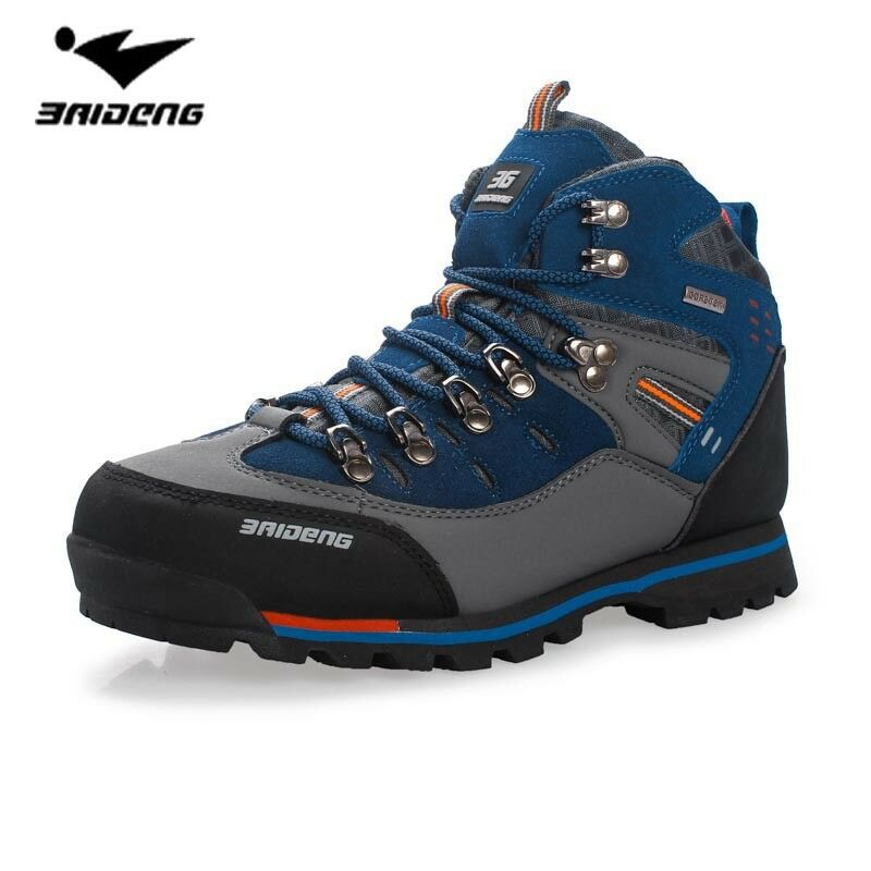 Men Waterproof Hiking Boots High Top Camping Mountain Climbing shoes Outdoor Spo