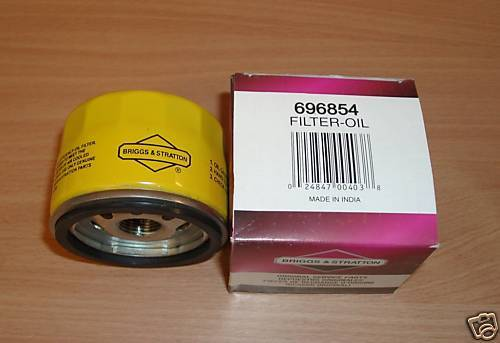 GENUINE BRIGGS /& STRATTON OIL FILTER 696854 492932 new extended life oil filter