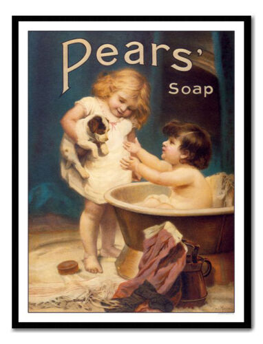 Framed And Memo Board Available Pears Soap Print