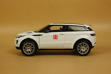 1:18 GT AUTOS Land Rover Range Rover Evoque metal white color