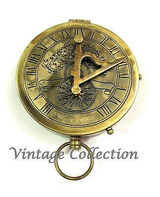 Antikes Maritime Messing gimbled Kompass Vintage nautisch Dekor Kompass