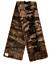 1290-BALENCIAGA-brown-faux-fake-fur-leopard-shawl-scarf-authentic-NWT thumbnail 1