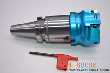 7//16-20 400R-80-22 Indexable Face milling Cutter + 10× APKT1604 R8-FBM22 Al
