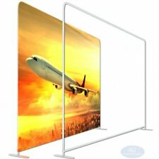 8x8fttension Fabric Ez Tube Display Wall Stand For Straight Booth Exhibit Show