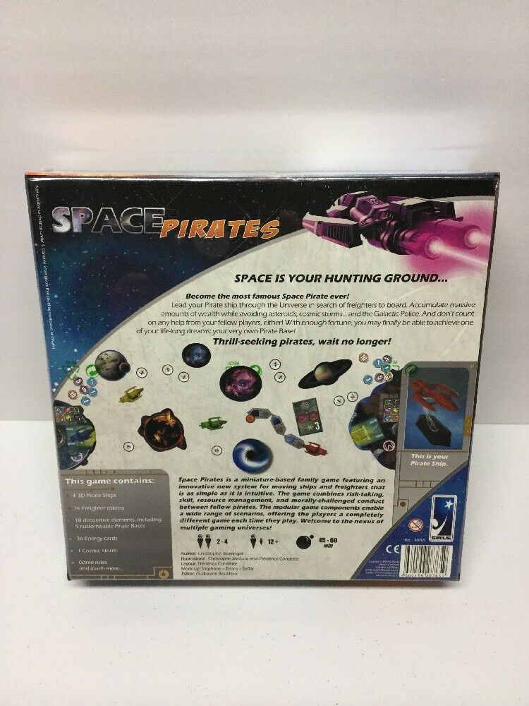 Space Pirates Board Game Game Game New in sealed box by Sirius Games b36128