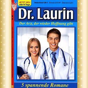 Nr 5 Arztromane DR 111-115 GROSSE SCHRIFT NEU /& UNGELESEN LAURIN