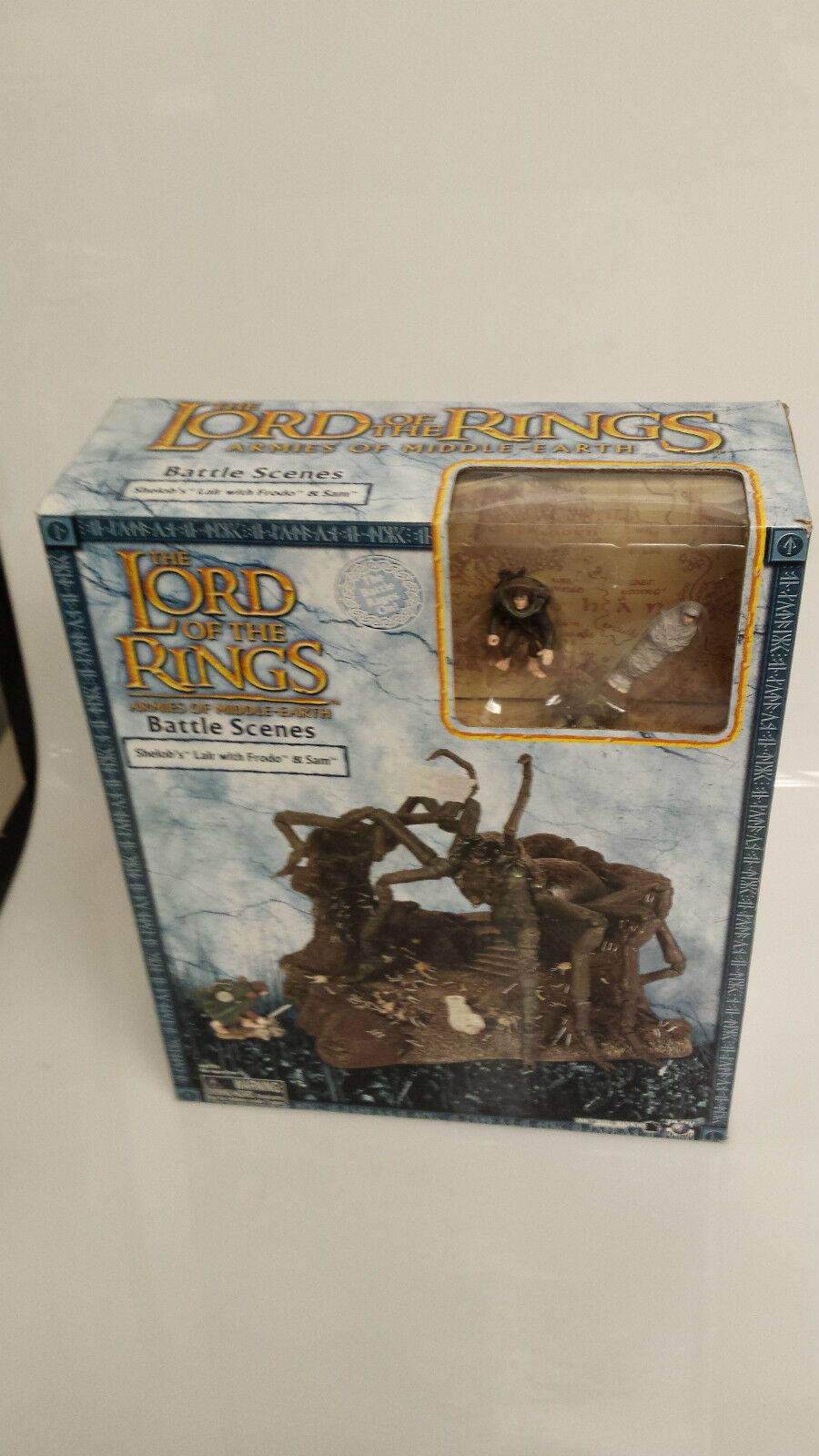 LOTR AOME Shelob's Lair Battle Scenes MISB Lord of the Rings redK Sam Frodo