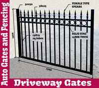 Oxley Ringpedestrian Gate,garden/pool Fence,security Fence,automatic Gates,glass