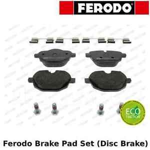 disc brake set of 4 Ferodo FDB113 Brake Pad Set