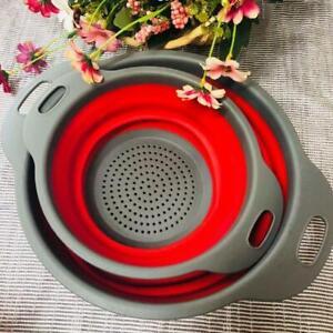 Folding-Collapsible-Silicone-Colander-Strainer-Kitchen-Fruits-Filter-Baskets