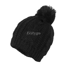 316824e9990 item 2 Unisex Mens Womens Winter Warm Knitted Oversized Slouch Bobble Pom Hat  Beanie -Unisex Mens Womens Winter Warm Knitted Oversized Slouch Bobble Pom  Hat ...
